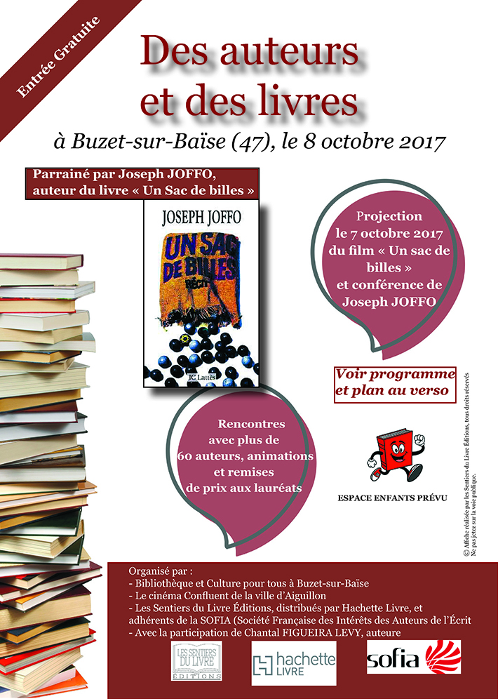 Salon national du livre de Buzet
